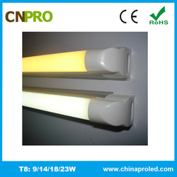 NO flicking anti-glare integrated t8 tube 1200mm led light 3 years warranty
