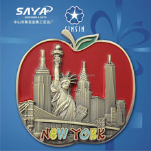 one and only new york souvenir fridge magnet