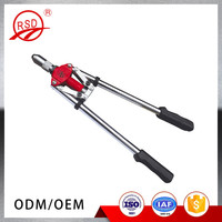 Manual assembly tool double handle hand rivet gun/strong power hand riveter