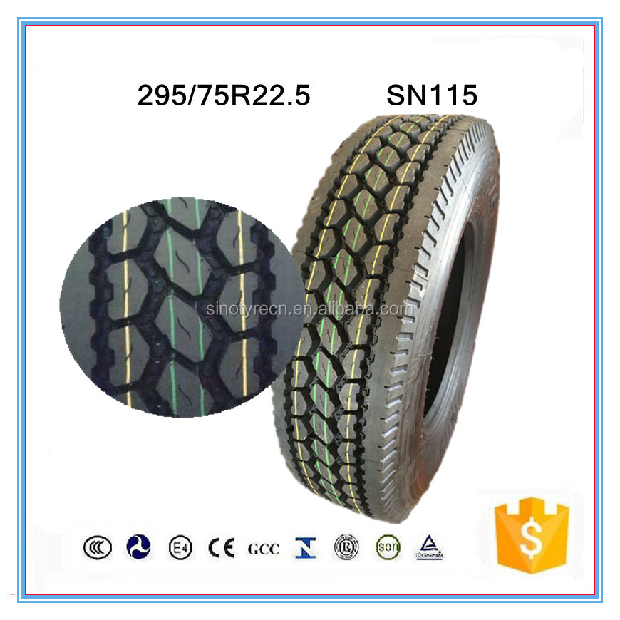 cheap price gt radial 295/75R22.5 truck tires factory in china