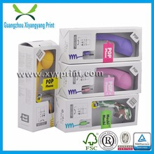 Colorful custom plain lovely receiver packing box for mobile