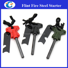 Wholesale Survival Gear Ranger Flint and Striker Fire Starter