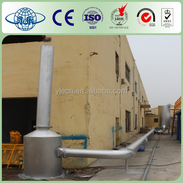 Waste Tyre/Plastic Pyrolysis Plant 33 tons per day