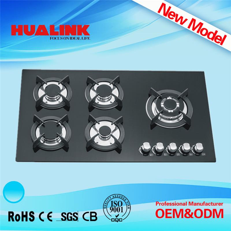 HLK5204G table gas cooker/counter top gas stove/all brands burner gas stove names of kitchen equipments