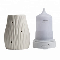 Handmade ceramic honeycomb design ultrasonic fragrance diffuser mist maker humidifier 100ml essential oils for difusor