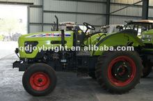 130HP 4wd farm tractor,16F+8R shift,hydraulic steering,double disc clutch,540/1000 PTO,YTO diesel engine,cabin with fan,EEC