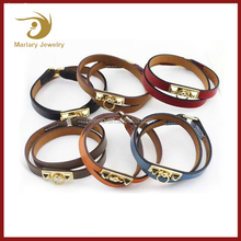 2017 Jewelry Making Supplies Marlary Elegant Leather Bracelet Womens Factory
