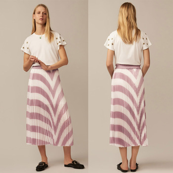 Alibaba pleated fashion women skirt