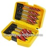 Wood working drill bits set four flute auger bit set