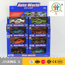 low prices boys favorite items pull back metal toy 1:43 car model for wholesale