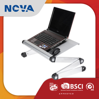 Wholesale aluminum alloy cooler folding floor stand laptop table