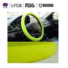 Hot sale Wholesale high quality anti-slip fashion design Silicone car Steering Wheel Covers