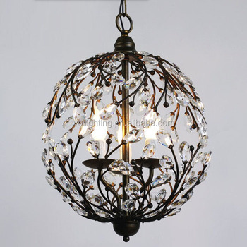 Country side lighting garden iron lantern lamp pendant light indoor lighting VOL
