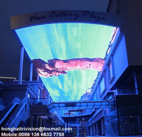Ceiling background large indoor led xxx china video Sky screen