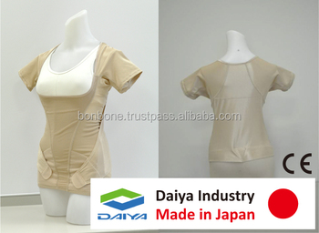 Posture Corrector Shirts, Back Posture Support, made in Japan