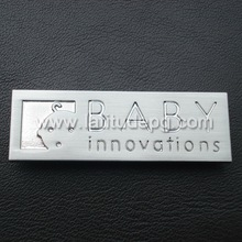 CR-AC7971-LOGO Multifunctional metal plate with sticky back