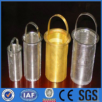 304 stainless steel wire mesh cylinder filter made in china