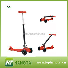 Quick folding foldable maxi scooter for kids