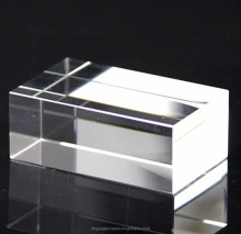 Hot sale souvenir glass blocks cubes gift 3d laser engrave K9 Clear Blank Crystal 3D Laser Etched Glass Cube for Engraving