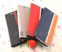 PU Flip Leather Case Cover Etui Housse Coque for Alcatel One Touch Idol 2 Mini S