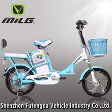 48V 350W cheap motorcycle electric bicycle carrier with pedals