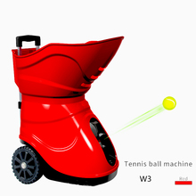 New tennis ball machine with remote control W3 tennis robot