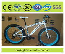 Custom color 26 Inch snow bikes/fat bicycles/bicicleta from China supplier
