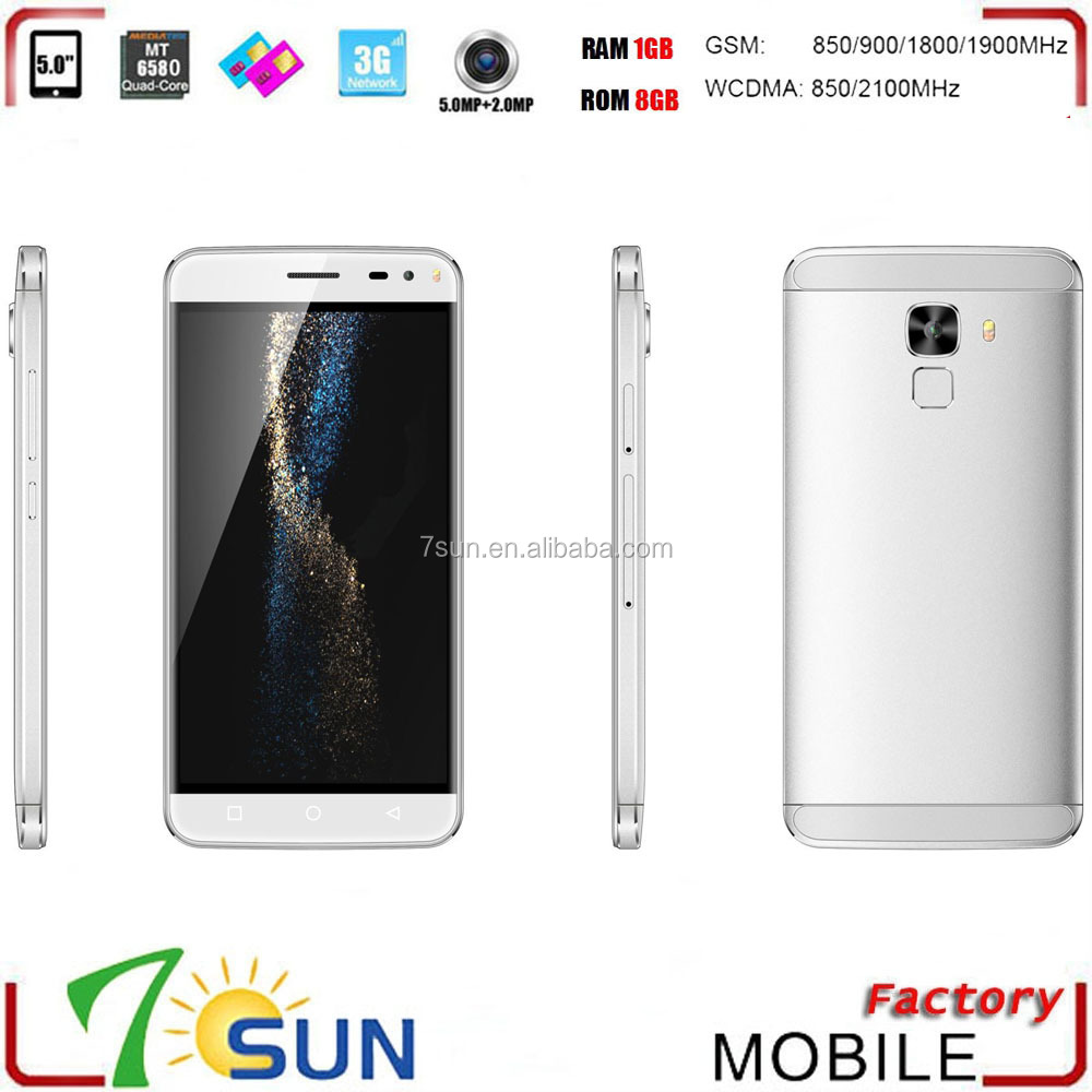 "chile mexico spain el salvador x-bo o3 3G 5.0"" Smartphone Android 5.1 MTK6580 Quad Core 1GB + 8GB 2MP + 5.0MP"