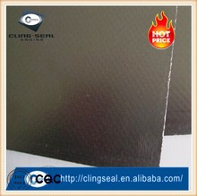reinforced graphite sheet/ panel with tanged metal insert