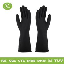 Water resistant black 320mm-350mm industrial working hot gloves