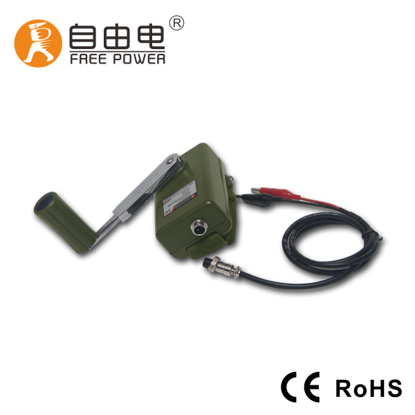 12V DC FSD30W permanent magnet free energy military hand crank generator hand dynamo