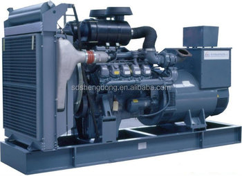 Great engine powered Global Warranty Diesel power generating 200kw generator