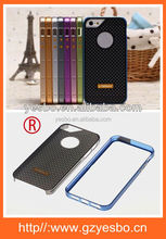 Hot selling new design two piece set metal bumper case for iphone5 ,5g,5s