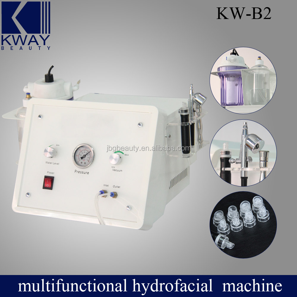 Water Dermabrasion+ oxygen jet peel + diamond dermabasion 3 in1 beauty machine for facial