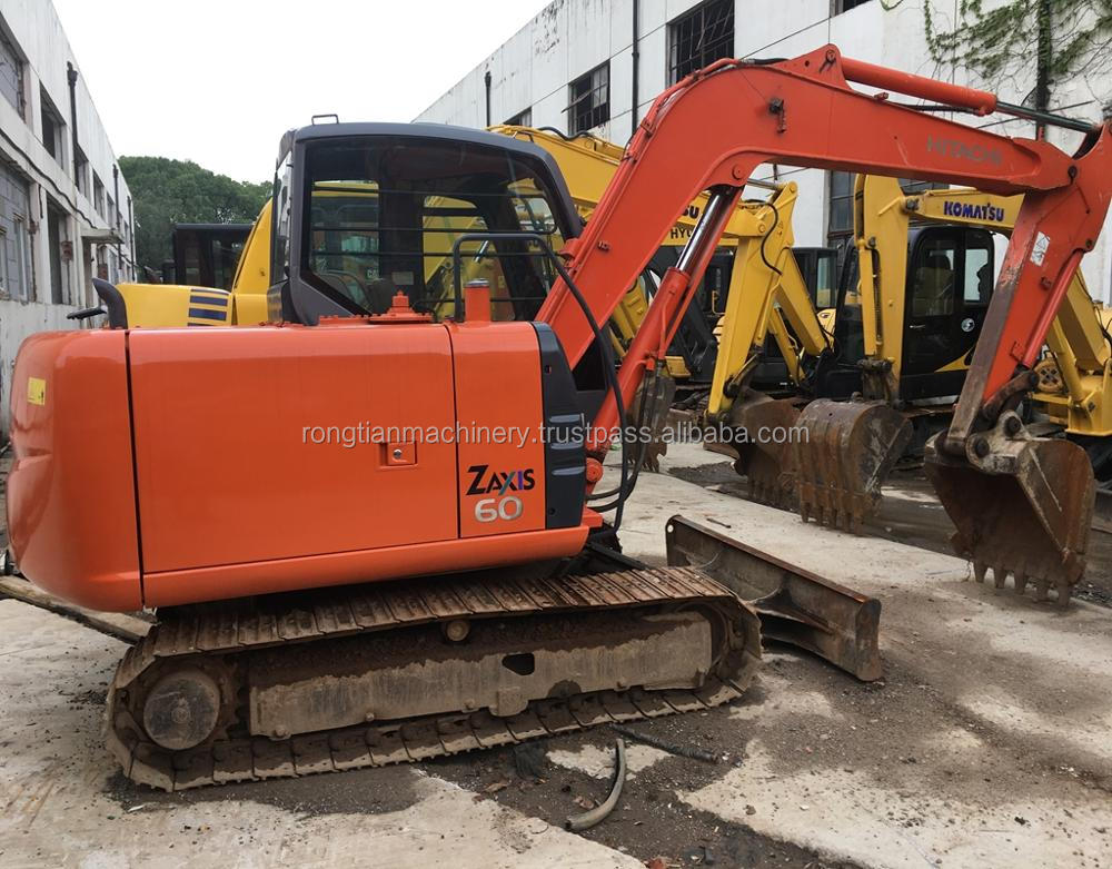 Good quality used hitachi excavator ZX60 for sale/ hitachi excavator with low price
