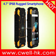 New Arrival 4.7 Inch Alps X8G Quad Core 4G LTE Android NFC China Waterproof Rugged IP68 Smarthone