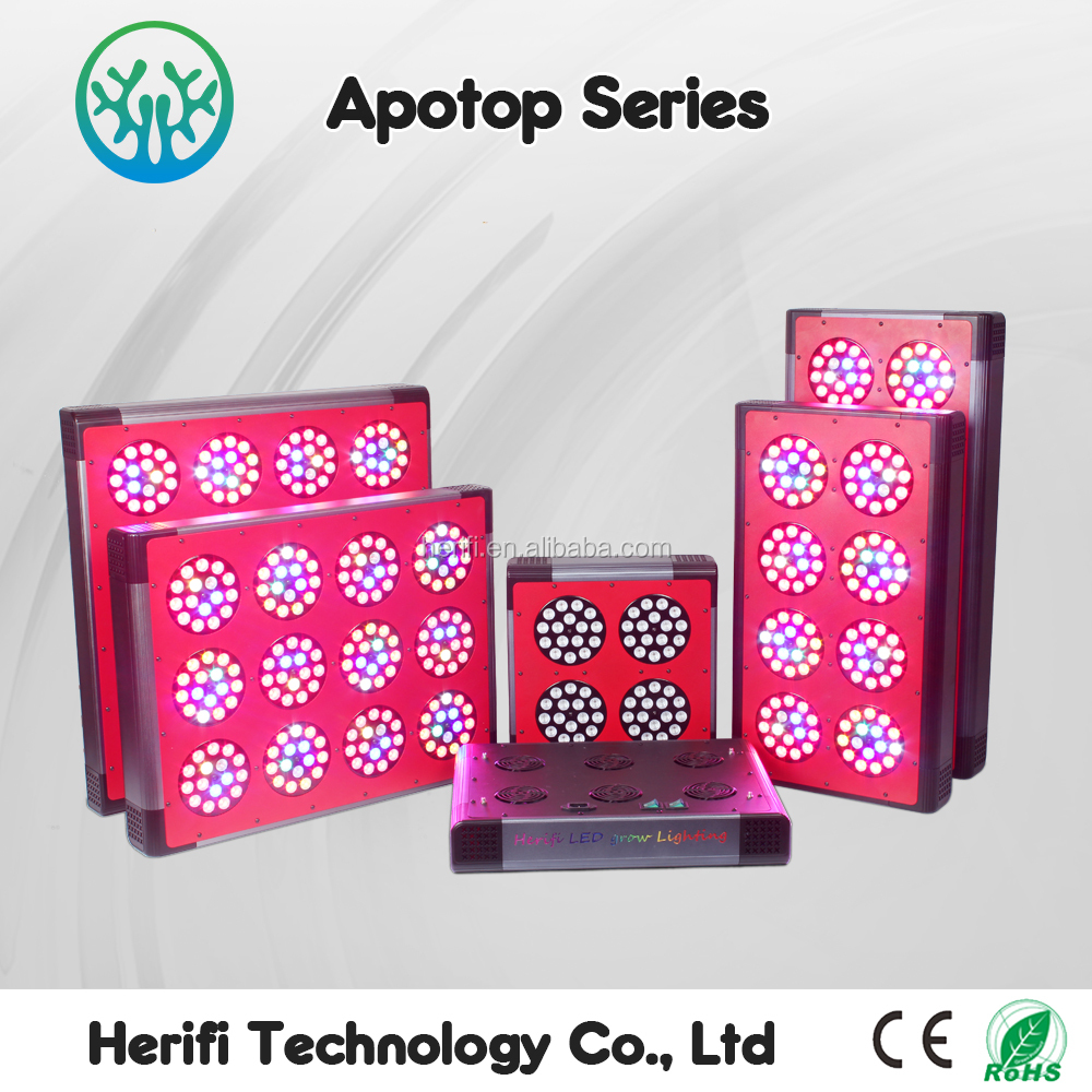 Hydroponics Greenhouse High Power 200w-1600w Double Ended Led Grow Light Full Spectrum Led Plant 5 watt/3watt Chip Led Grow Lamp