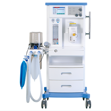 S6100D veterinary equipment icu ventilator for operation room of Anesthesia machine with vaporizer patient monitor and gas sourc