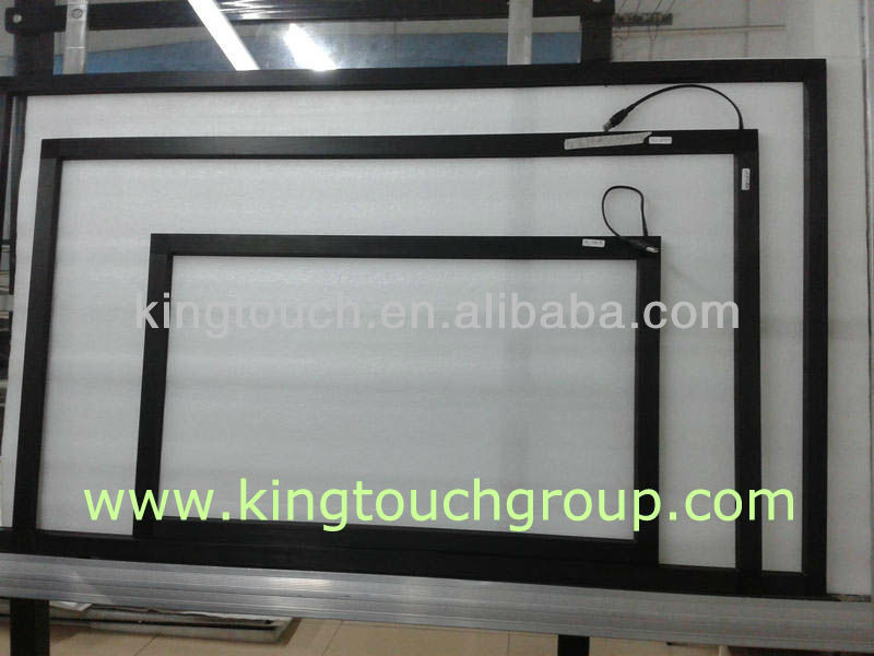 IR touch screen kit for lcd & monitor, Infrared ir touch screen frame,IR touch overlay kit made by King Touch Group