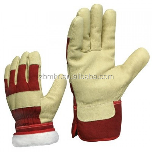Brand MHR ODM neoprene pad Framing leather working gloves