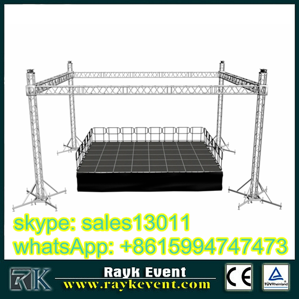 circle / ring / round truss for led lights / stage equipment / concert stage truss for exhibition