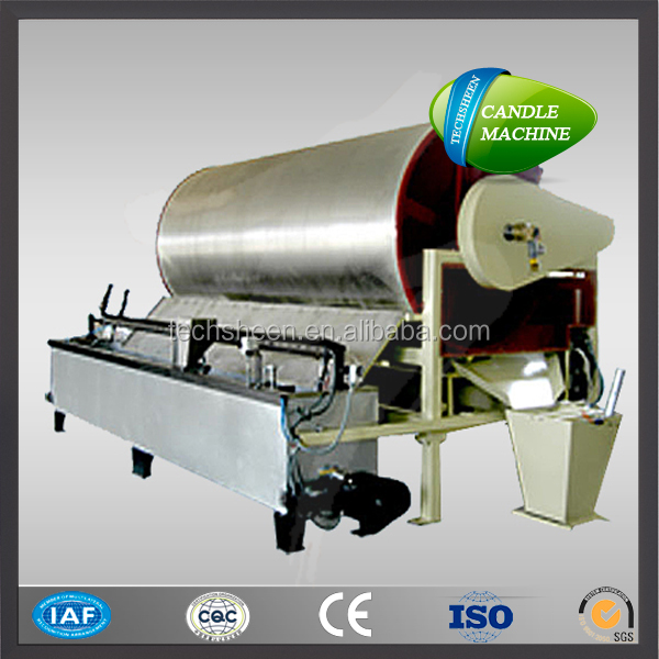 Stainless steel candle wax powder making machine