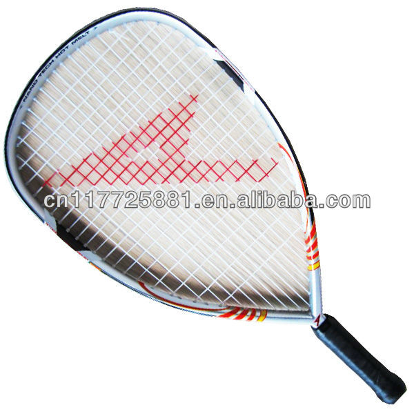 Aluminum alloy and graphite one piece Racketball Racket