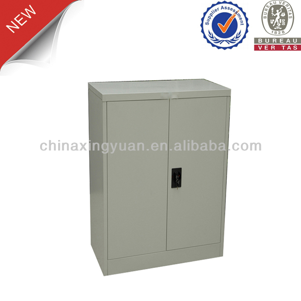 Pedestal steel roller shutter door storage cabinet for changing room