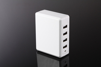 UL,CUL,GS,ERP Approval 2014 hot selling 5V 34w 4 port USB Charger with Smart IC for tablets and smart phones