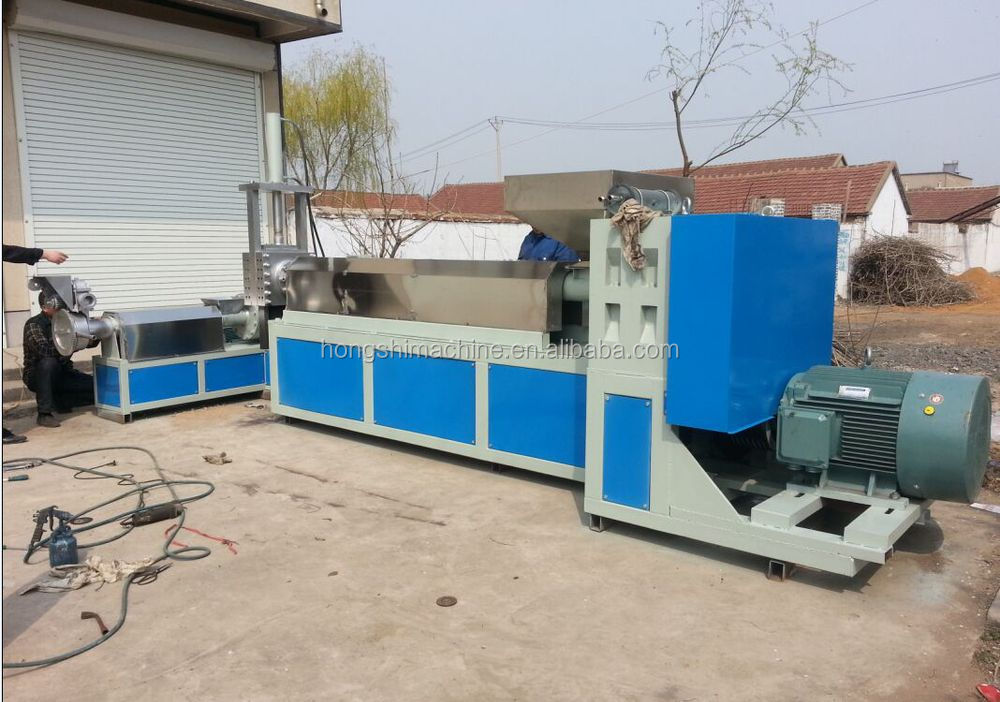 100-300kg/h pp pe ldpe hdpe pet production line lowest factory price plastic granulator
