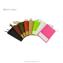 Multi-color kraft paper bags, handle bags, be used for shopping