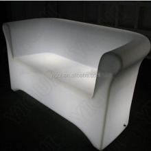 model Popular new design big LED sofa LED comfortable high back sofa
