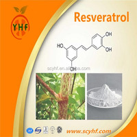 Drum Packaging and Powder Form Pure Resveratrol ( Polygonum Cuspidatum Extract ) Products
