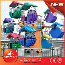 Direct Factory price for amusement kiddie rides park mini ferris wheel for sale